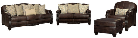 Embrook Signature Design 4-Piece Living Room Set