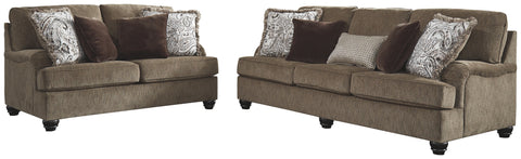 Braemar Benchcraft 2-Piece Living Room Set