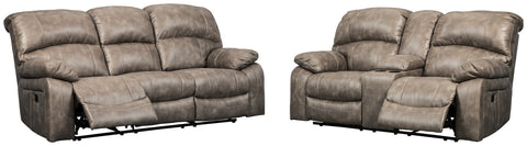 Dunwell Signature Design 2-Piece Living Room Set