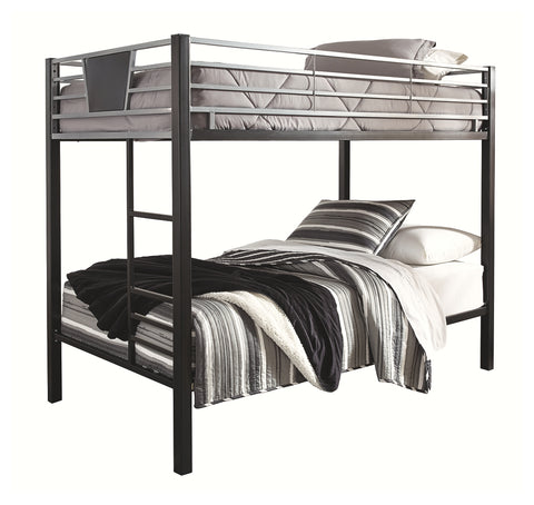 Signature Design by Ashley Dinsmore Twin over Twin Bunk Bed with Ladder