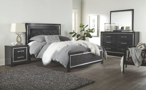 Signature Design by Ashley Kaydell King Upholstered Panel Bed