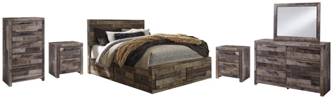 Derekson Benchcraft 8-Piece Bedroom Set