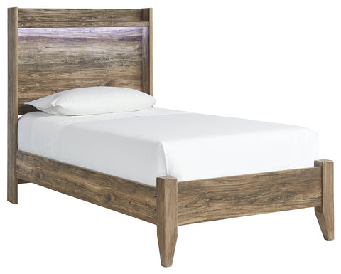 Signature Design by Ashley Rusthaven Twin Panel Bed