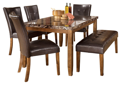 Lacey Signature Design 6-Piece Dining Room Set