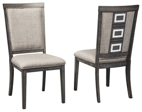 Chadoni Signature Design 2-Piece Dining Chair Set