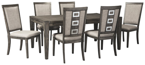 Chadoni Signature Design 7-Piece Dining Room Set