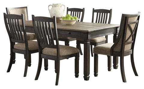 Tyler Creek Signature Design 7-Piece Dining Room Set