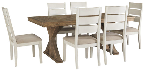 Grindleburg Signature Design 7-Piece Dining Room Set