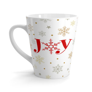 Joy Christmas Latte Mug