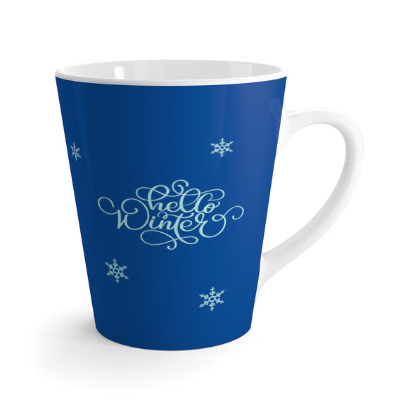 Hello Winter Latte Mug