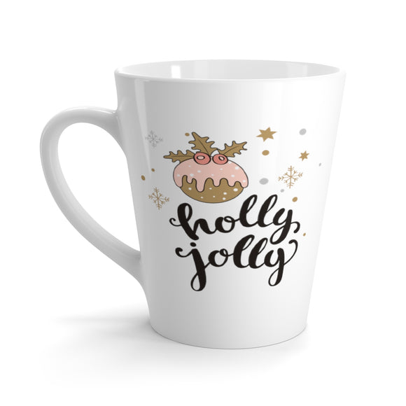 Holly Jolly Latte Mug