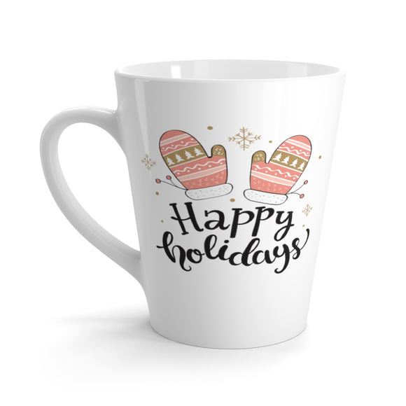 Holiday Mittens Latte Mug