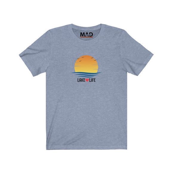 Lake Life Sunset T-Shirt