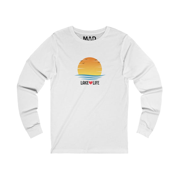 Lake Life Sunset Long Sleeve T-Shirt