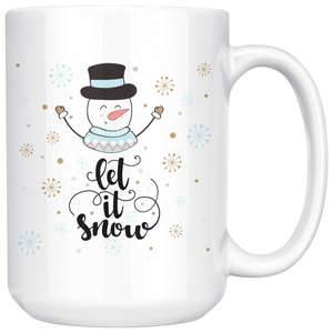 Let It Snowman 15oz Mug