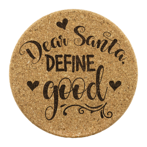Define Good Cork Coaster (Set of 4)