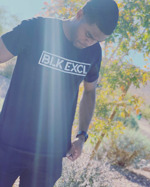 Blk Excl Bold Tee