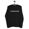 VERY IMPORTANT BLACK PERSON LONG SLEEVE TEE