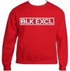 BLK EXCL BOLD CREW NECK