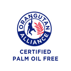 orangutan alliance, certified, palm oil free, accredited, the windsor end, natural, clean