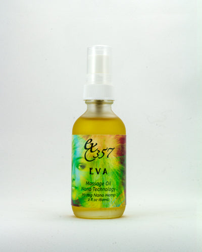 Eva Massage Oil w/ Nano Hemp - Ultra Hydrating Massage Oil Blend with Strong Anti-aging Properties