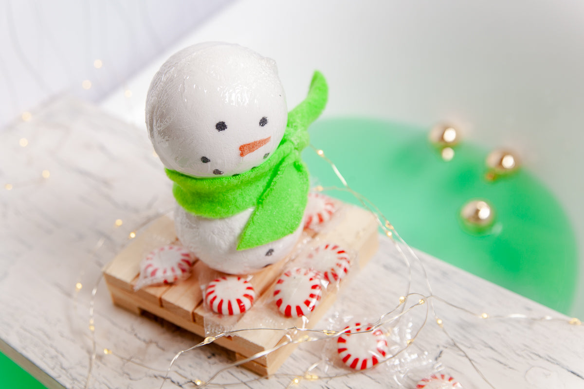 Snowman Bath Fizzies