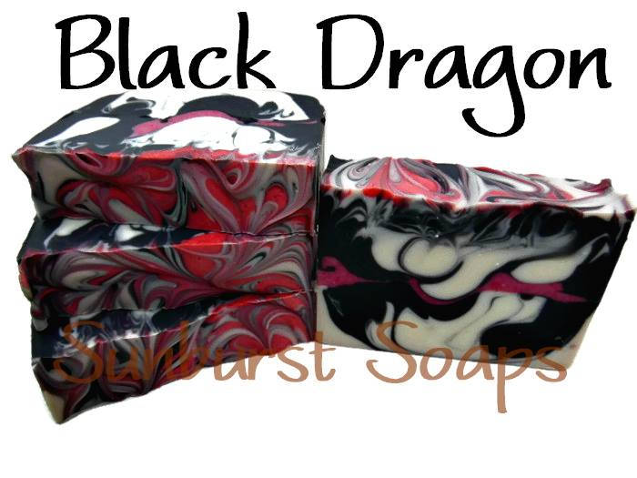 Black Dragon Shea Magic Luxury Soap