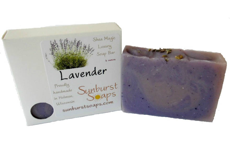 Lavender Shea Magic Soap