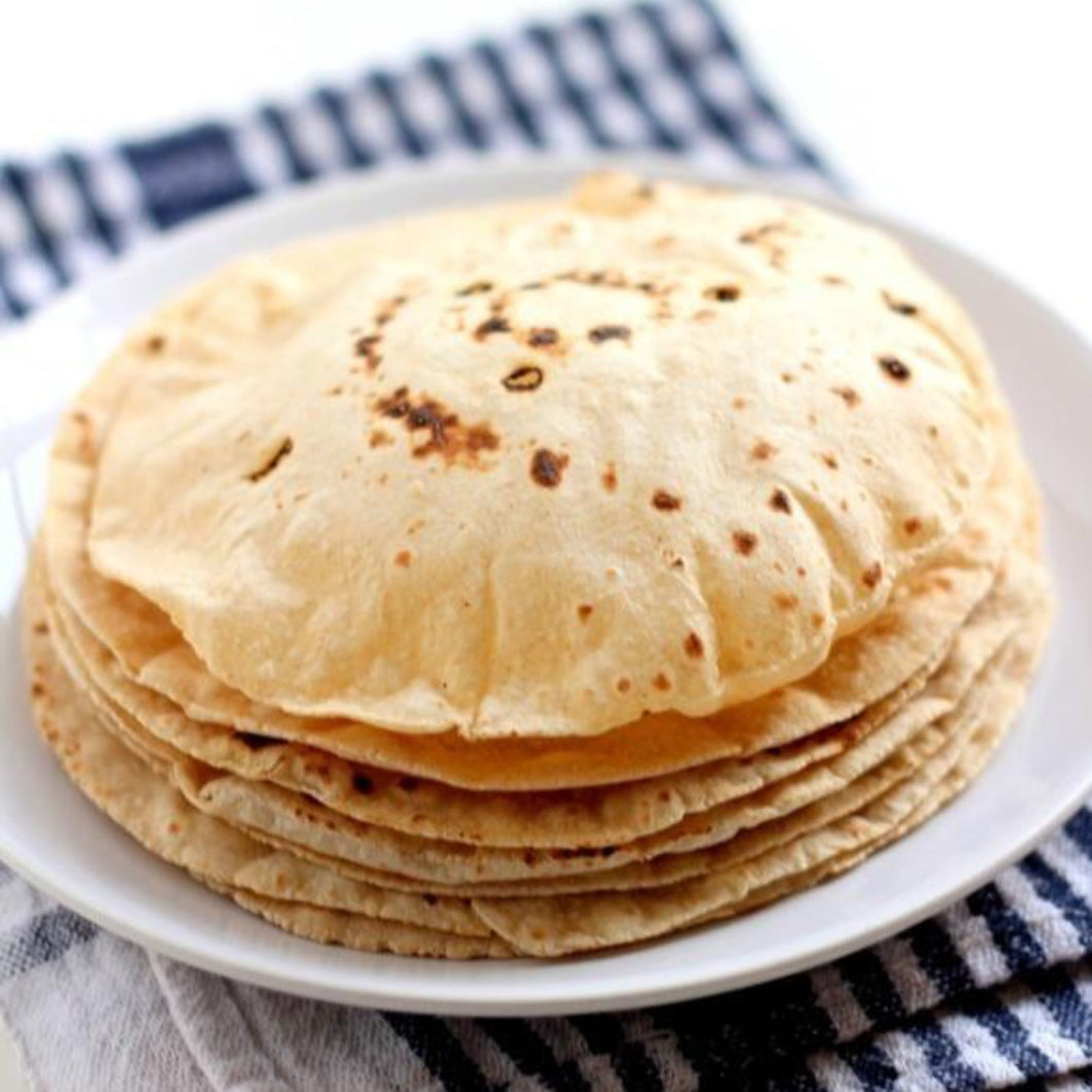 Whole Wheat Roti's (10 pack)