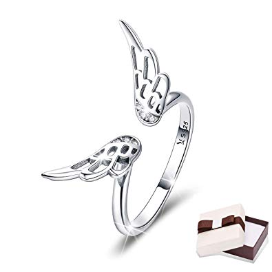 Angel Silver Ring