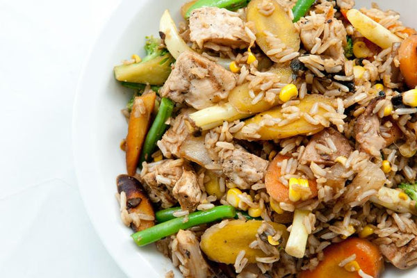 Easy-Peasy Chicken Stir Fry