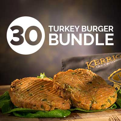 30 Turkey Burger Bundle
