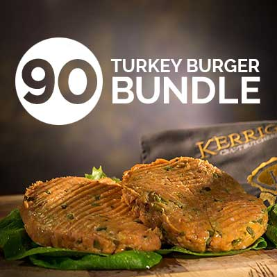 90 Turkey Burger Bundle
