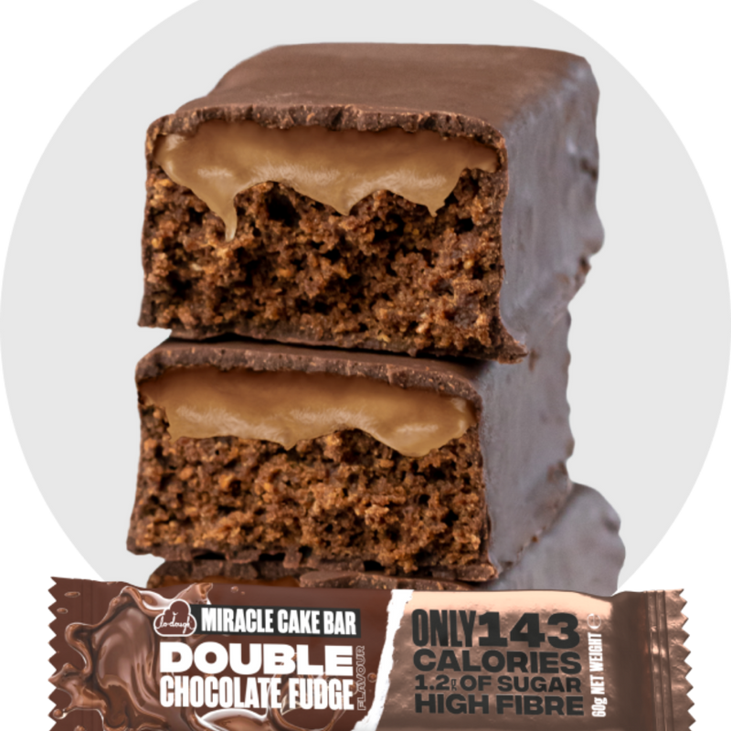 Miracle Cake Bar - Double Chocolate Fudge