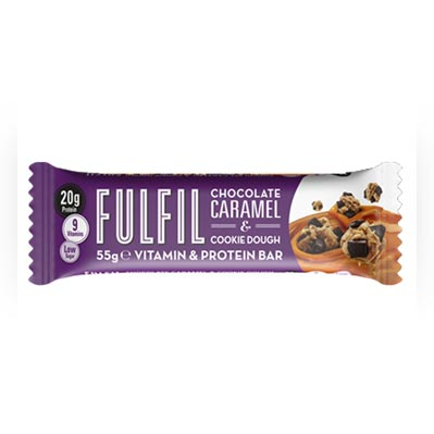 Fulfil Chocolate Caramel and Cookie Dough Bar