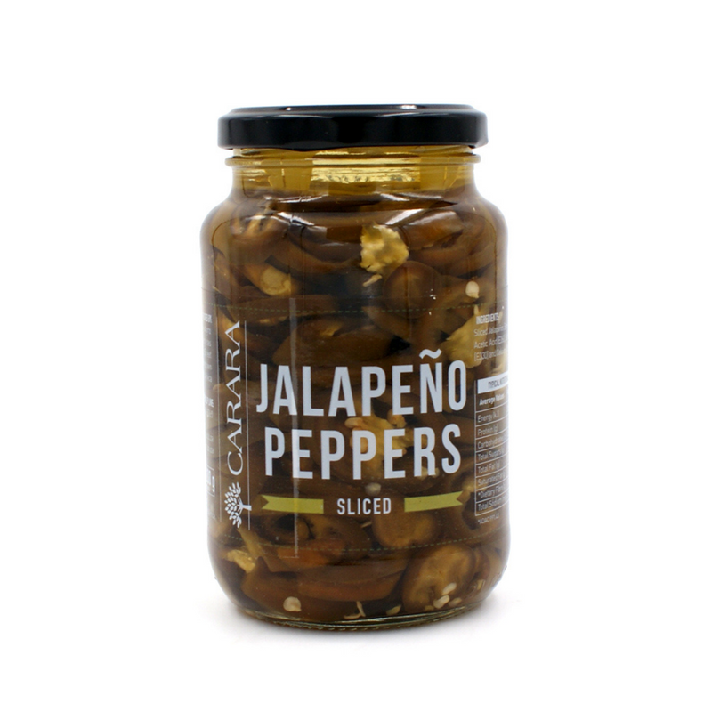 Hot Sliced Jalapeno Glass Jar