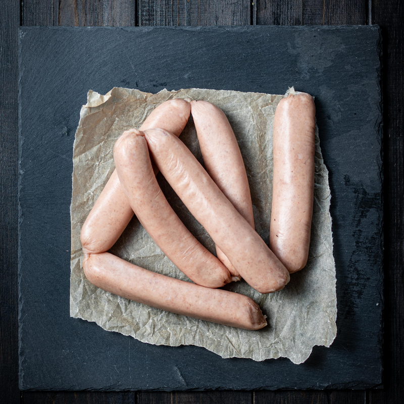6 Jumbo Pork Sausages