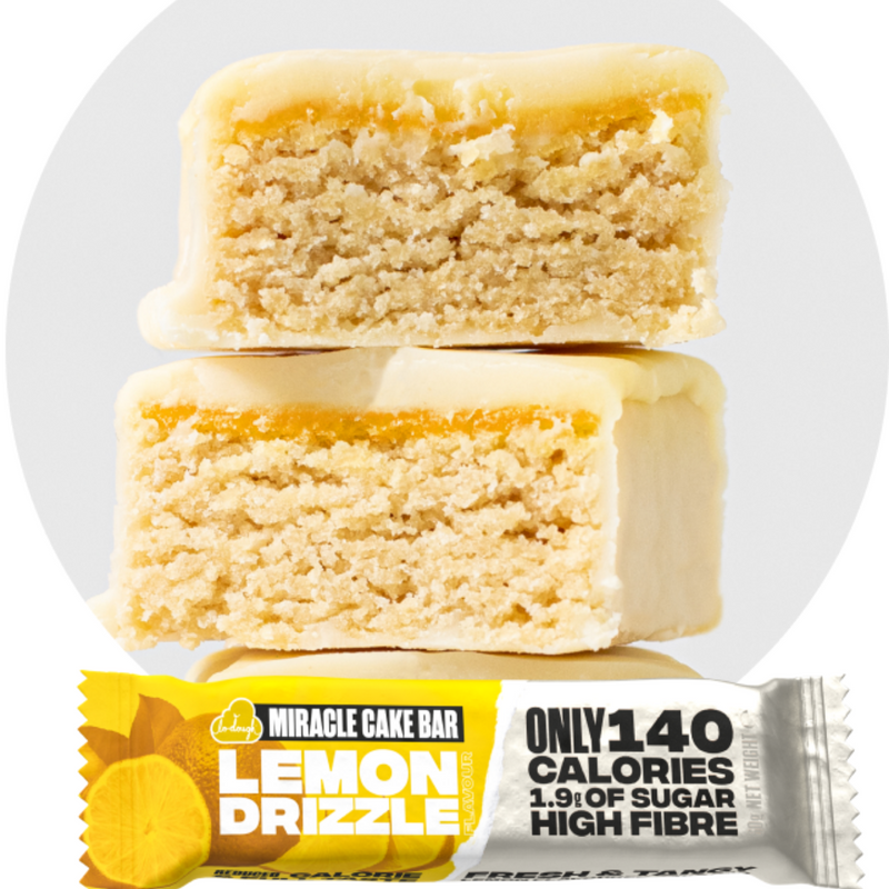Miracle Cake Bar - Lemon Drizzle