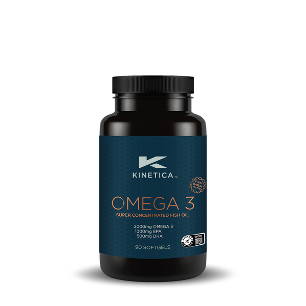 Kinetica Omega 3 Fish Oils (90 caps)