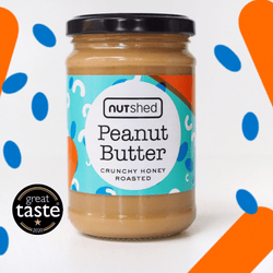 Nutshed Crunchy Honey Roasted Peanut Butter