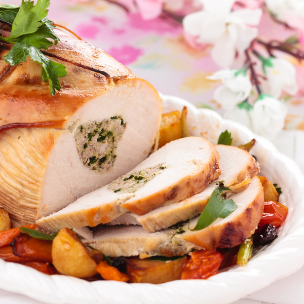 Boneless Turkey Breast - Min Weight 3kg (Serves up to 12 people)