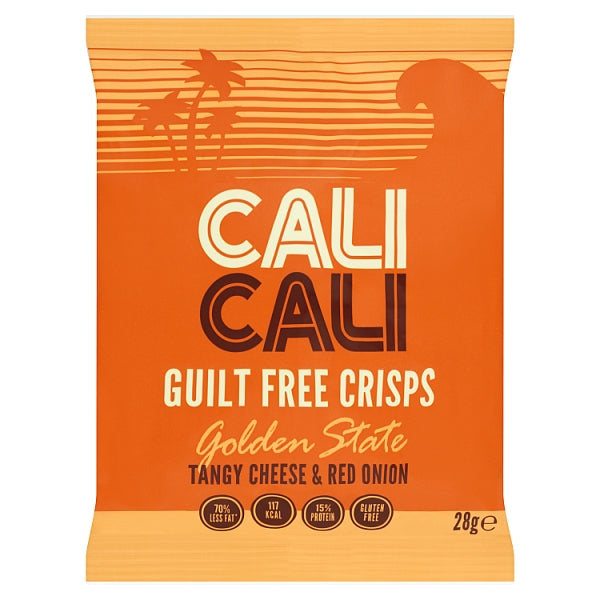 Cali Cali - Golden State Tangy Cheese & Red Onion Crisps