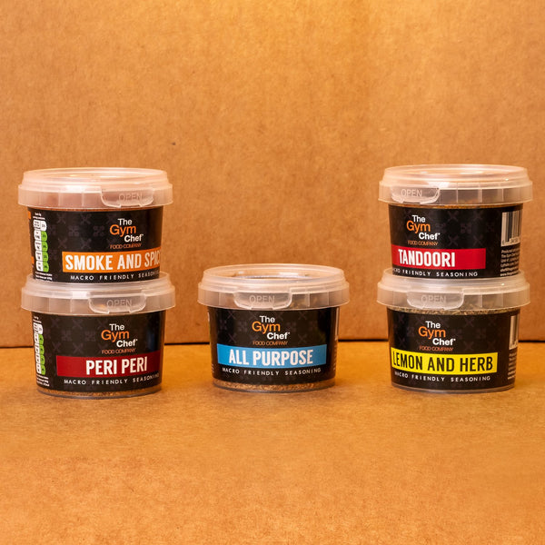 Gym Chef 3 Seasonings Bundle