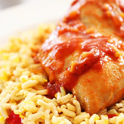 Piri Piri Chicken Fillet with Power Rice (400g)