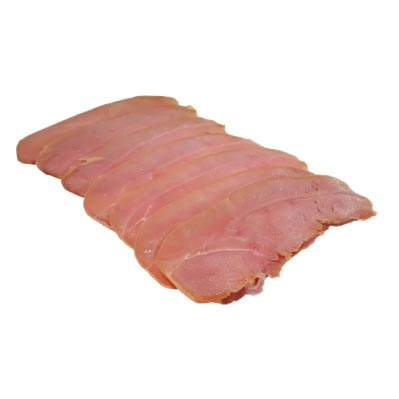 Smoked and Dry Cured Turkey Bacon 200g