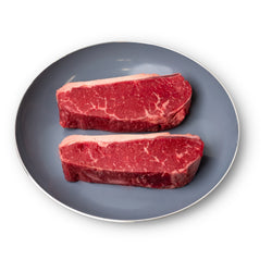 4 x 10oz Hereford Striploin Steaks