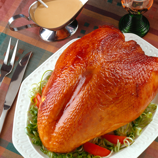 Free Range White Turkey Crowns on the Bone - Large Min Weight 4.5kg (Feeds 10-12 People)