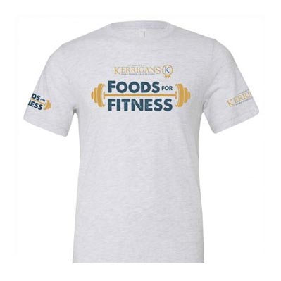 Foods For Fitness T-shirt White