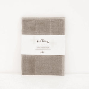 Natural Tea Towel | Binchotan Anti Odour