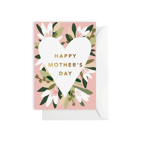 Flower Happy Mother's Day | Blank Card